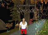 Cartoon Runner Cossack